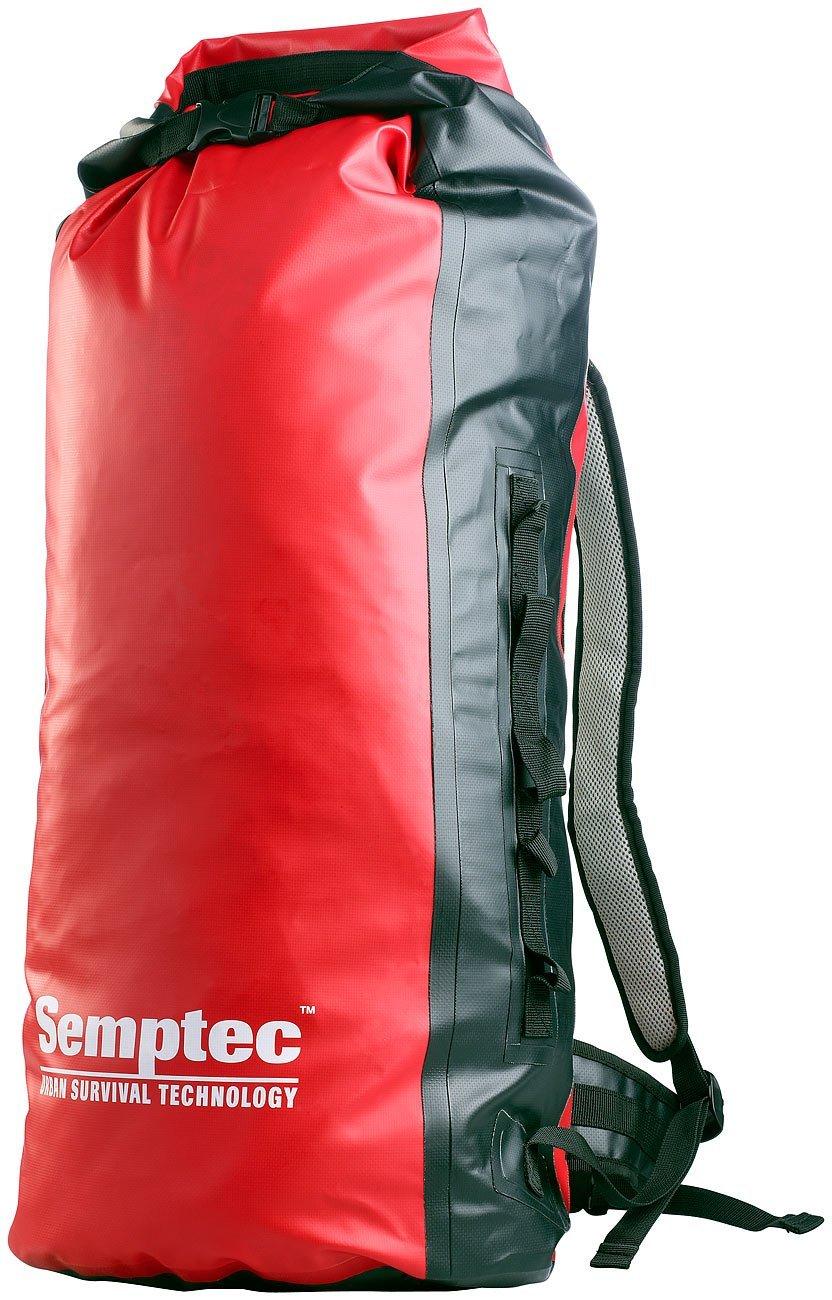 Semptec Urban Survival Technology Wasserdichter Trekking-Rucksack aus LKW-Plane, 70L
