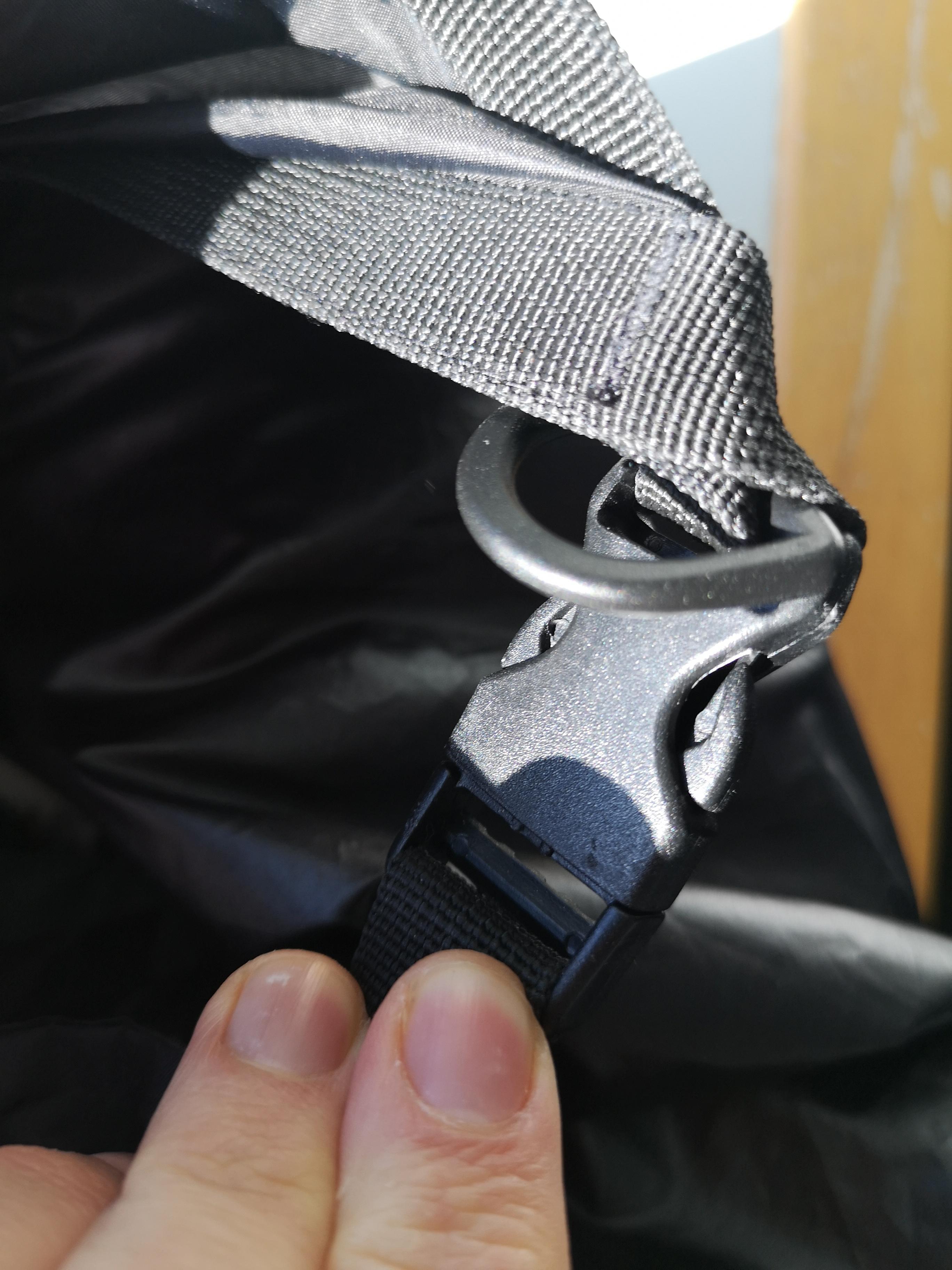 Seesack mit Clipverschluss